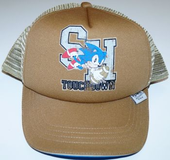 1 Brown Sonic the Hedgehog Baseball Caps One Size