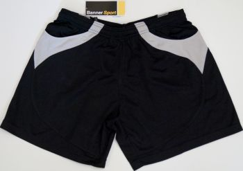 "5 Boys/Girls Banner Gym Shorts with Pockets 30-32"" Waist"