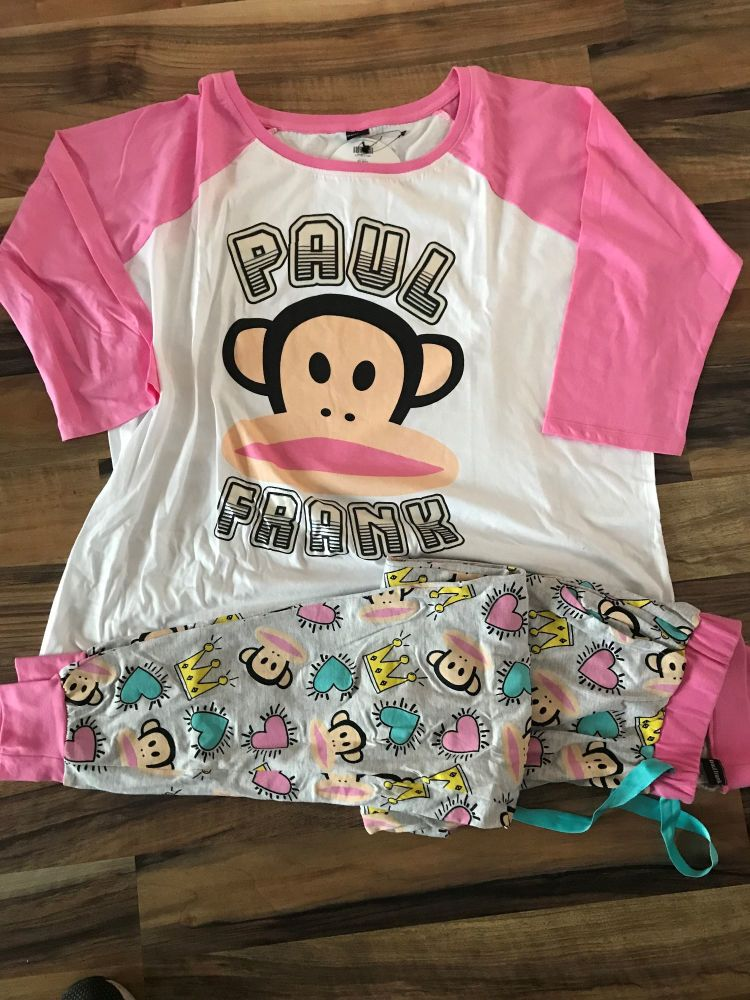New Product 10 ladies paul frank x top store pyjamas just £3.25 each