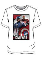 11 mens captain america/ iron man civil war t shirts ONLY £1.20
