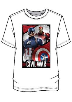 24 men's captain america t shirts just £2.00 each