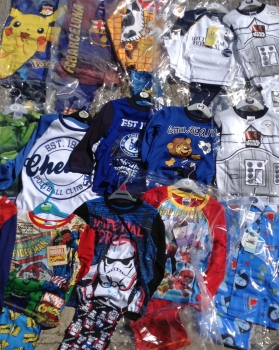 New Product 60 boys assorted character pyjamas just £2.00 each