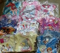 New Product DEAL!! DEAL!!! 30 GIRLS ASSORTED CHARACTER NIGHTIES SUBLIMATED AND NORMAL JUST £2.00 EACH