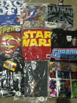 New Product DEAL!! 40 mixed mens t shirts character just £2.00 each