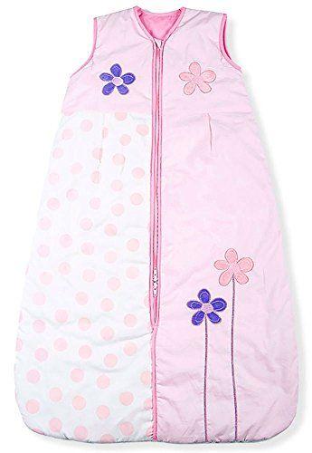 10 Baby Cotton Mr Sandman Sleeping Bags 3.5 TOG Pink Flower Age 3-6 Years