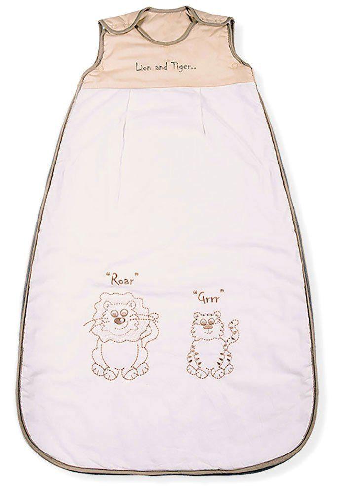 10 Baby Cotton Mr Sandman Sleeping Bags 3.5 TOG Lion and Tiger
