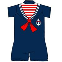 12  Sailor Surfsuit One Piece Swim Suits