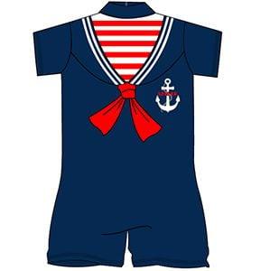 12  Sailor Surfsuit One Piece Swim Suits.NEW PRICE £1.35