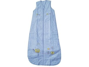 10 Choo Choo Cotton Chambrey Sleeping Bags 0.5 TOG Age 6-18 Months Zip Up Front