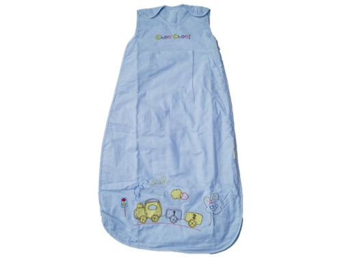 12 Choo Choo Cotton Chambrey Sleeping Bags 0.5 TOG Age 3-6 Years