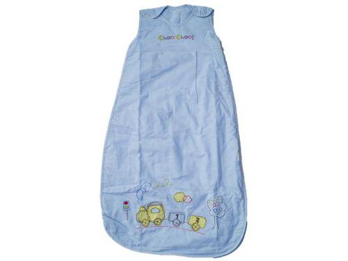 12 Choo Choo Cotton Chambrey Sleeping Bags 1 TOG Age 6-18 Months