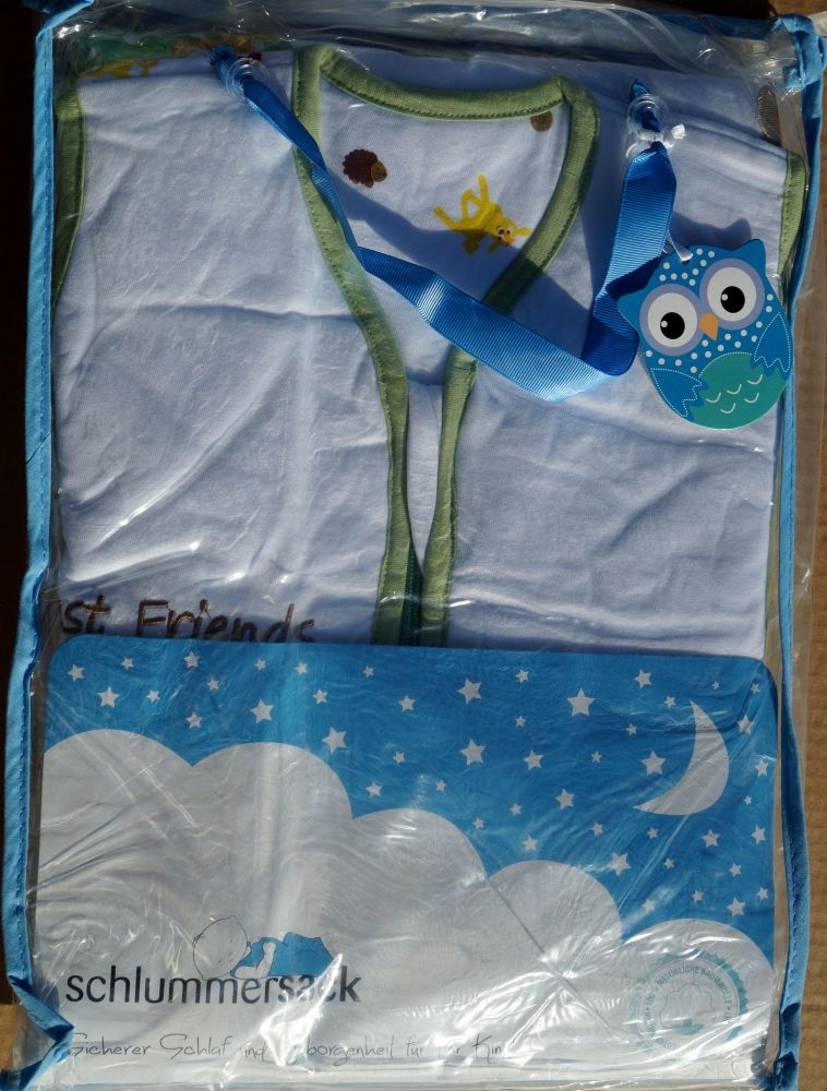 12 Forest Friends Sleeping Bags 1 TOG 1-3 Years