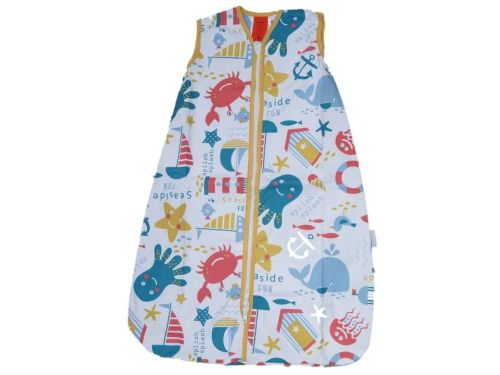 7 Baby Cotton Mr Sandman Sleeping Bags 0.5 TOG Seaside