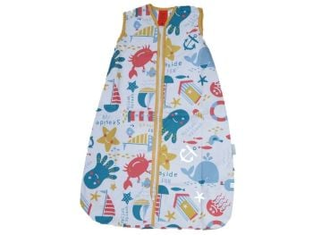 9 Baby Cotton Mr Sandman Sleeping Bags 1 TOG Seaside