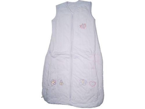 15 Cotton Mr Sandman Sleeping Bags 2.5 TOG Lilac Butterflies Age 6-18 Month