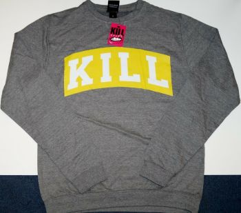 31 Ladies/Mens Kill Brand Sweatshirt - 28 large,3 med.