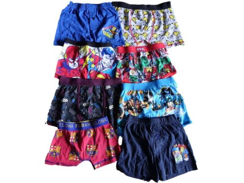 55 Boy's Single Assorted Boxers
