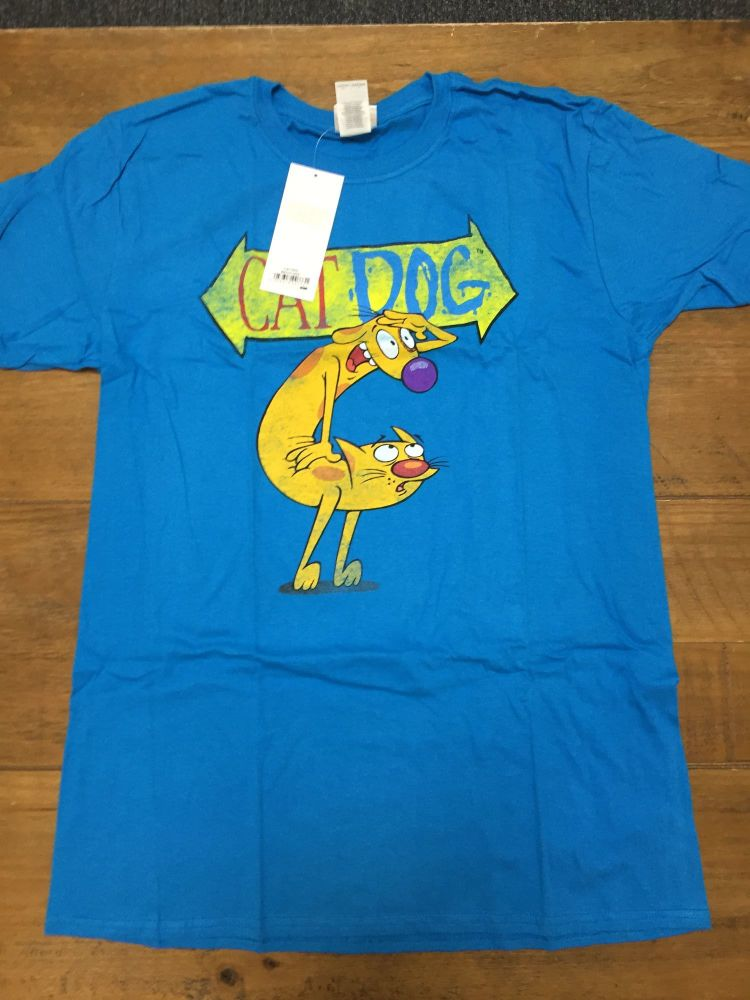 New Product 35 nickalodean cat and dog t shirts just £1.50 each just size l