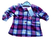 15 Ex Store Girl's Pink Checked Shirts