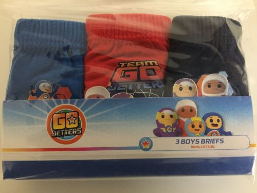 New Product 18 boys official go jetters 3 pack briefs  £1.30