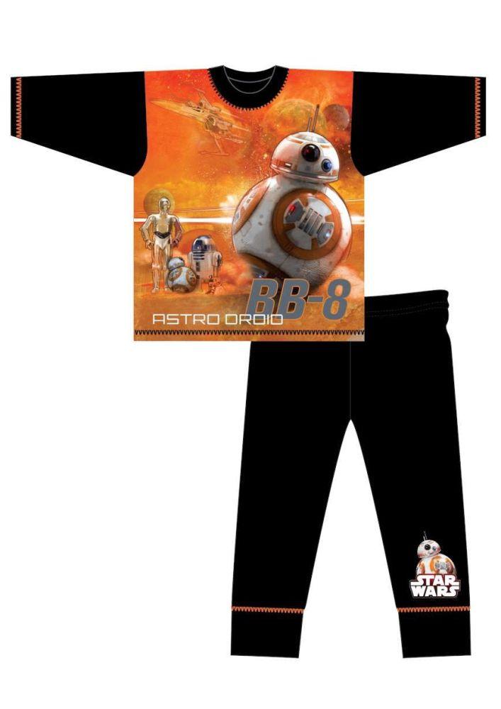 18 boys Star Wars long pyjamas just £2.65