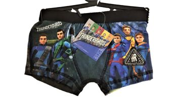 18 boys official thunderbirds boxer trunks just £1.00 each LIMITED OFFER 65p EACH
