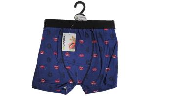 24 Men's Hanger Pack  Animal Single Boxers