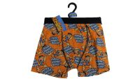 24 Men's The Flintstones Single Hanger Pack Trunks/Boxers