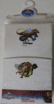 18 Boy's Jurassic World 2 Pack Vests