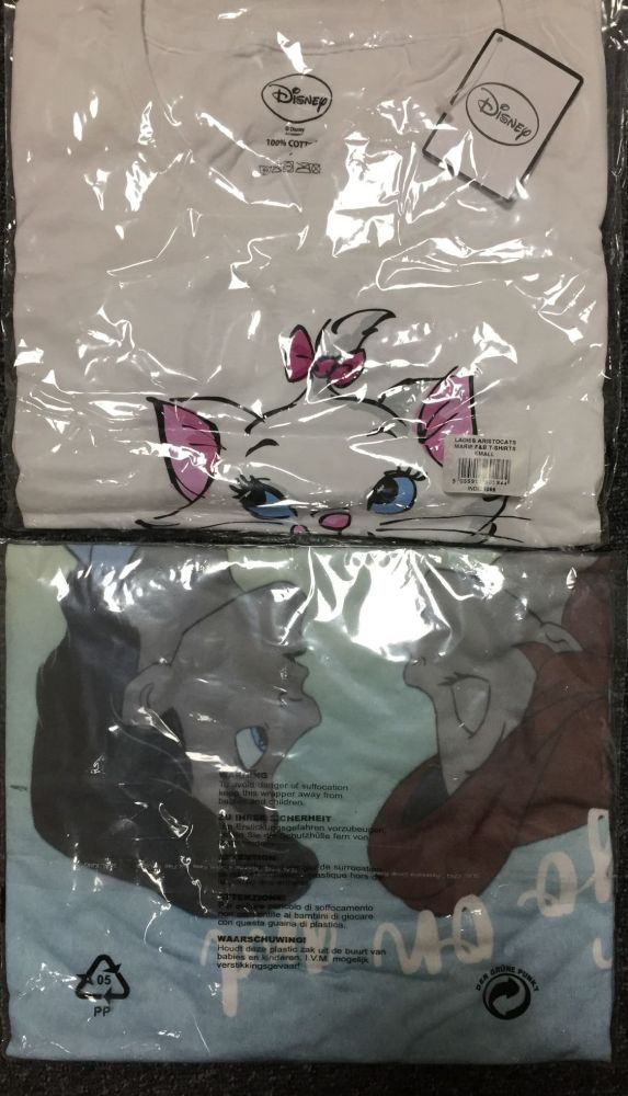 New Product 100 ladies mixed disney t shirts just £1 each