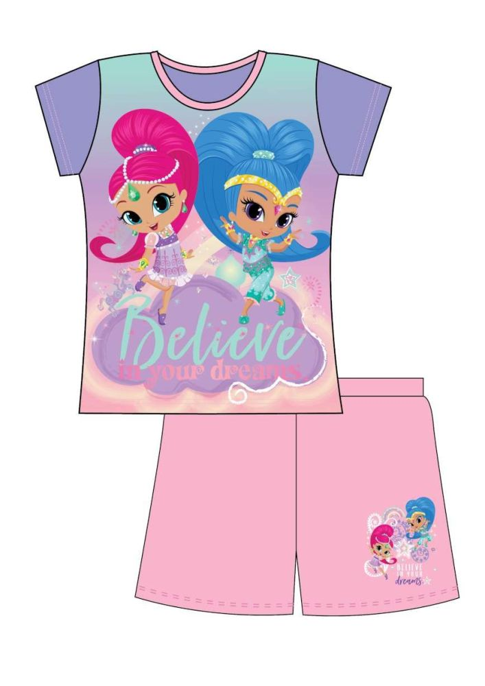 18 Shimmer & Shine Short Pyjamas