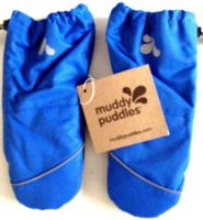10  Baby Blue Ski Mittens  by  Muddy Puddles
