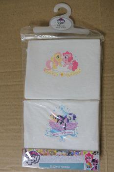 18 Girl's My Little Pony 2 Pack Vests