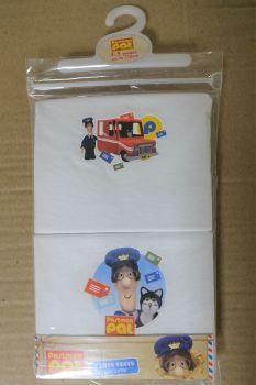 18 Postman Pat 2 Pack Vests