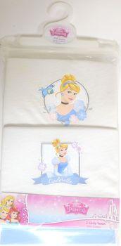 18 Girl's Cinderella 2 Pack Vests