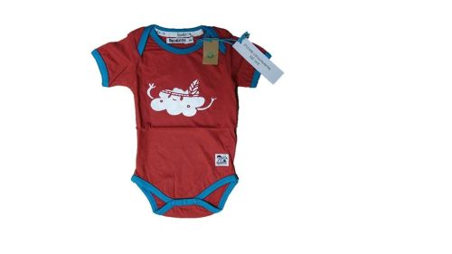 4  Mountain Cloud Body Suits Age 3-6 Months