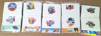 90 assorted  character boys  2 pack vests just £1.00 each