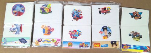 90 assorted  charactor  2 pack vests just £1.00 each