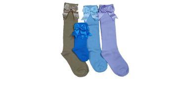 100 mixed girl's long socks £1.00