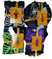 16 Assorted Character Dressing Up Sets 4 Designs HALLOWEEN
