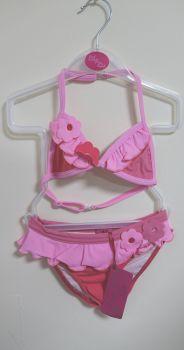 10 Girl's Magenta/Pink Lulu Rio Bikini NOW £3.25