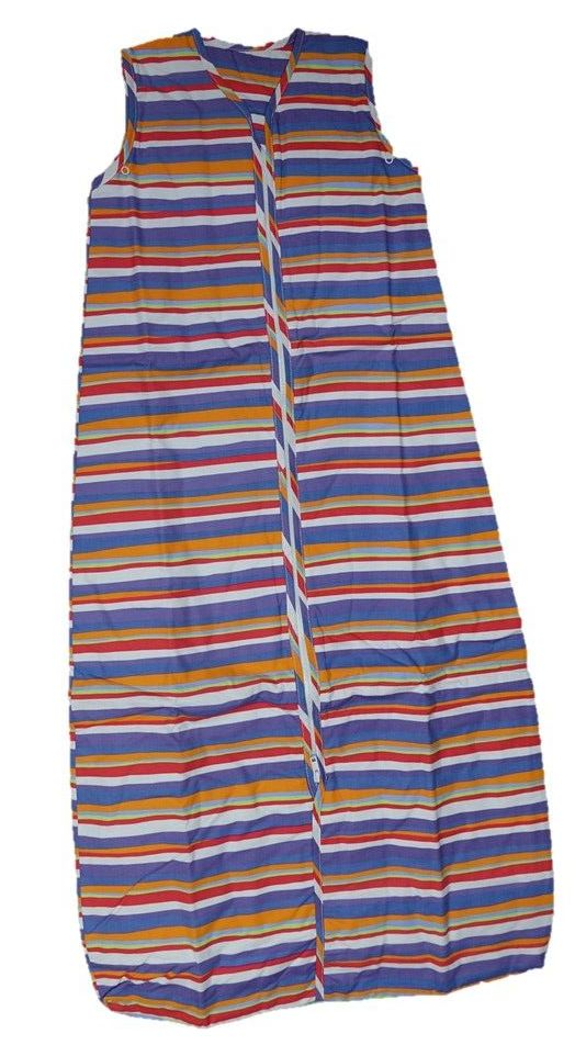 12 Striped Sleeping Bags Age 12-36  Months 1 Tog