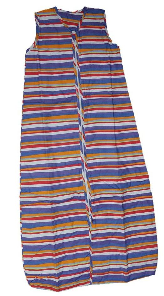 12 Striped Sleeping Bags Age 6-18  Months 1 Tog