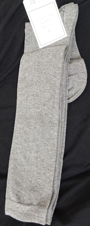 New Product x top store ladies luxury modal grey knee high socks 2 pair pac