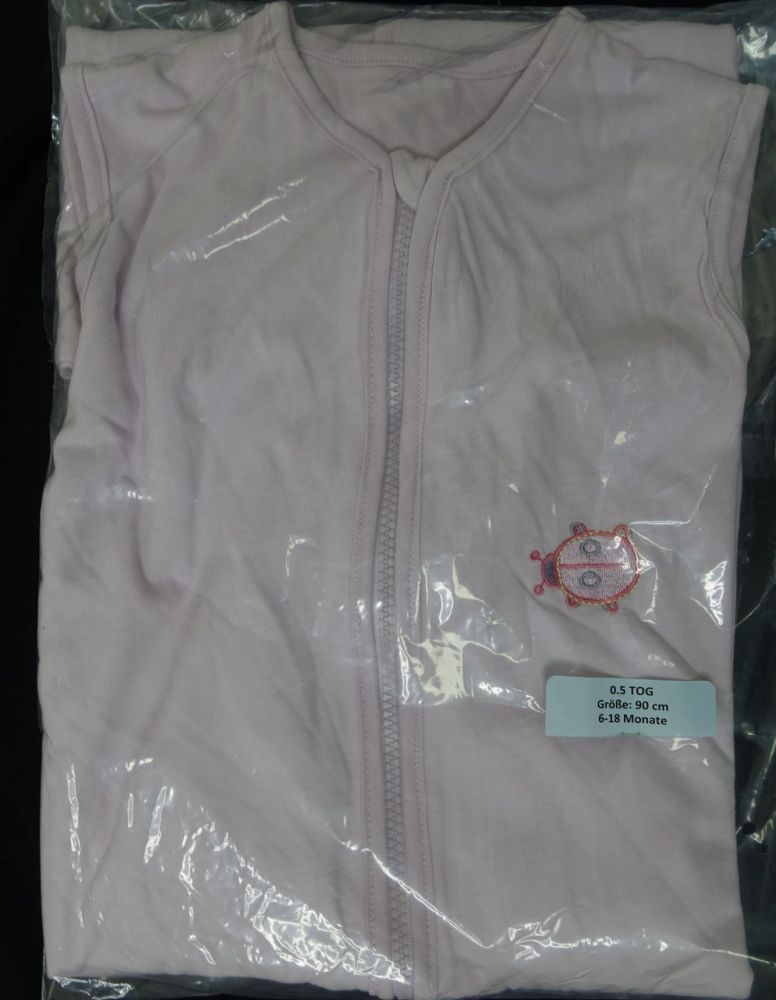 New Product fresh stock 12 girls ladybird and butterfly CAMPING 0.5 tog