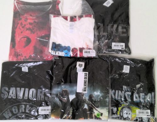 21 mixed the walking dead t shirts just £1.50 each