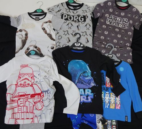 New Product 23 boys x store mixed star wars pyjamas just £2.50 each