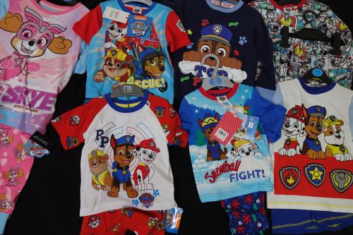 New Product 32 x store boys and girls mixed paw patrol pyjamas just £2.50 e