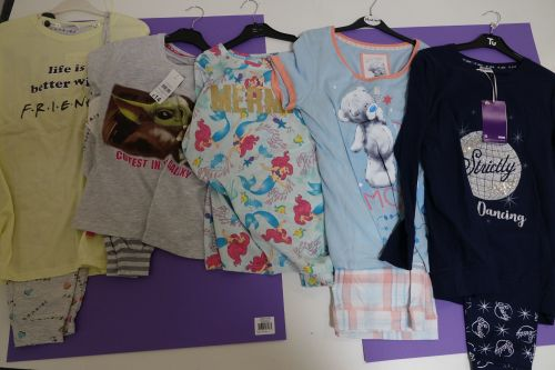 New Product 31 ladies character pyjamas x store just £4.00 each