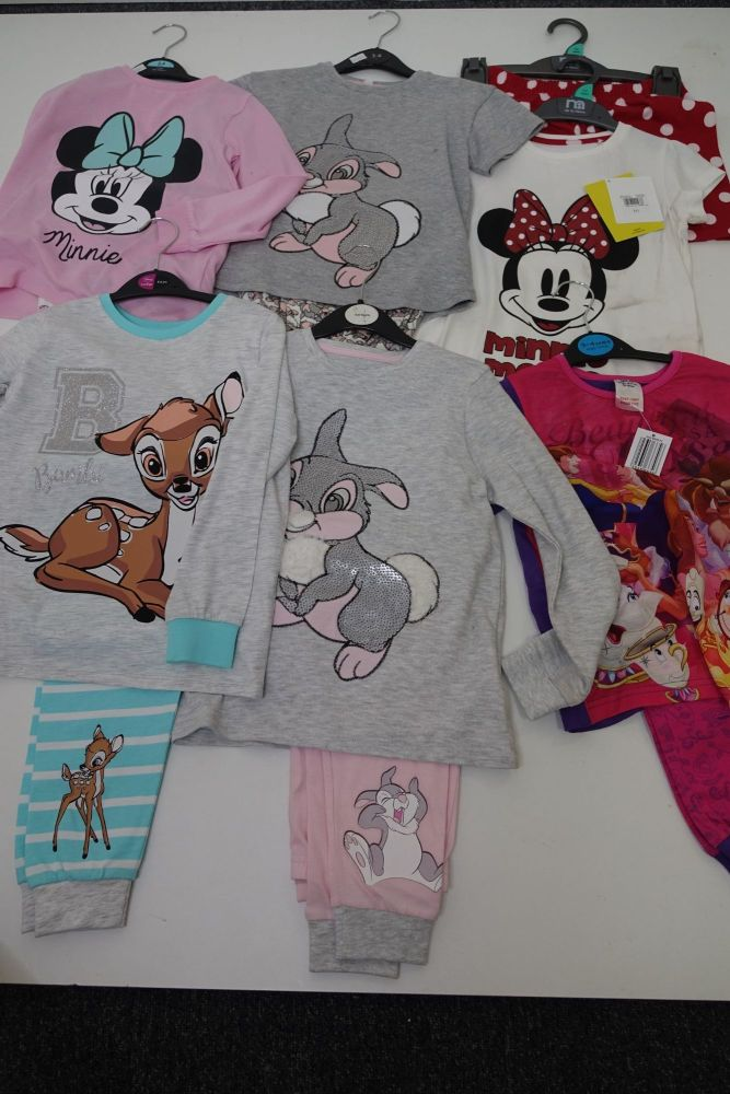 New Product 27 x store girls mixed character disney pyjamas just £3.00 each